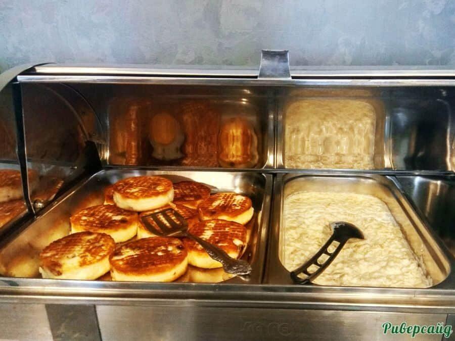 Завтрак шведский стол отдых на Дону Волгоградская область
