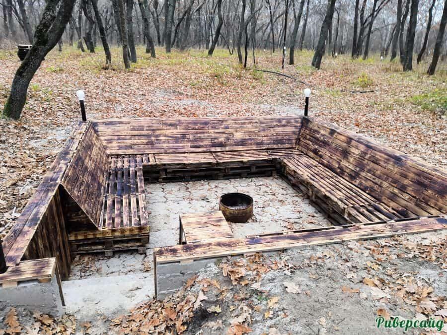 Костер отдых на Дону Волгоградская область