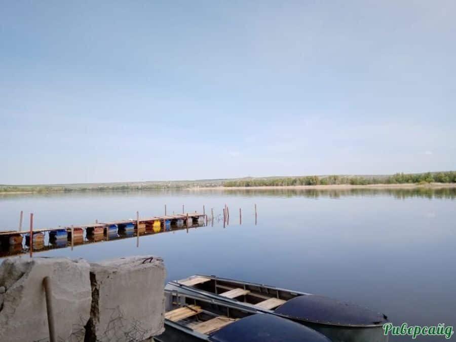 Пирс на Дону Волгоградская область