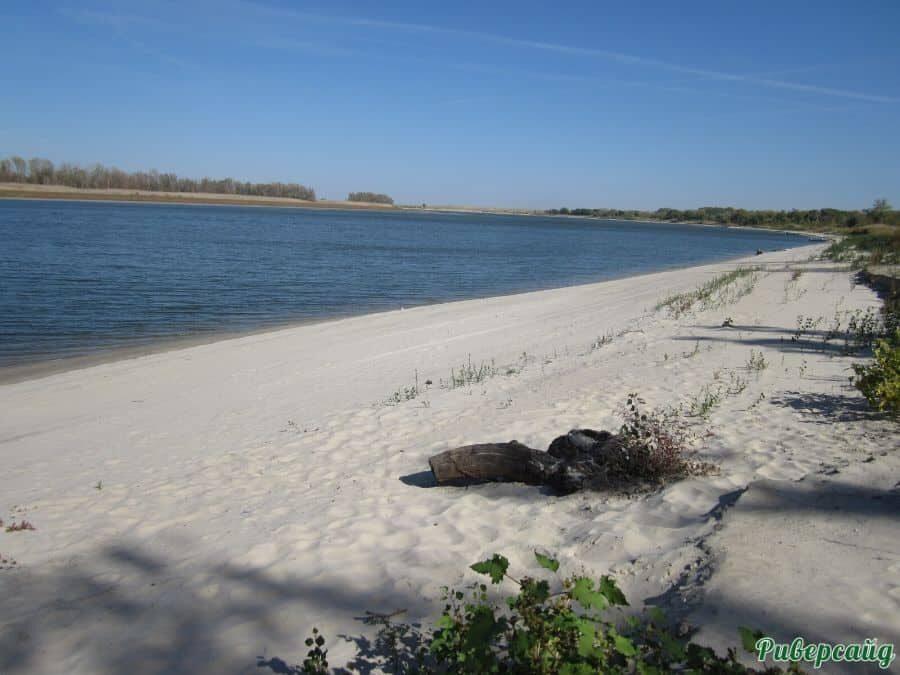 Пляж на Дону Волгоградская область